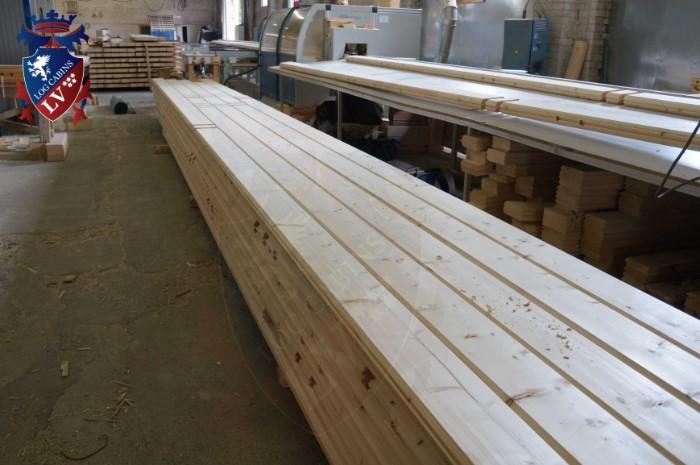 engineered twinskin log cabins