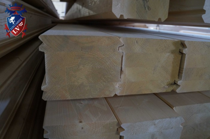 Engineered Glulam Log Cabins  095