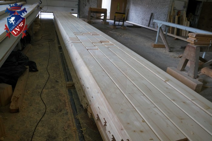 Engineered Glulam Log Cabins  160