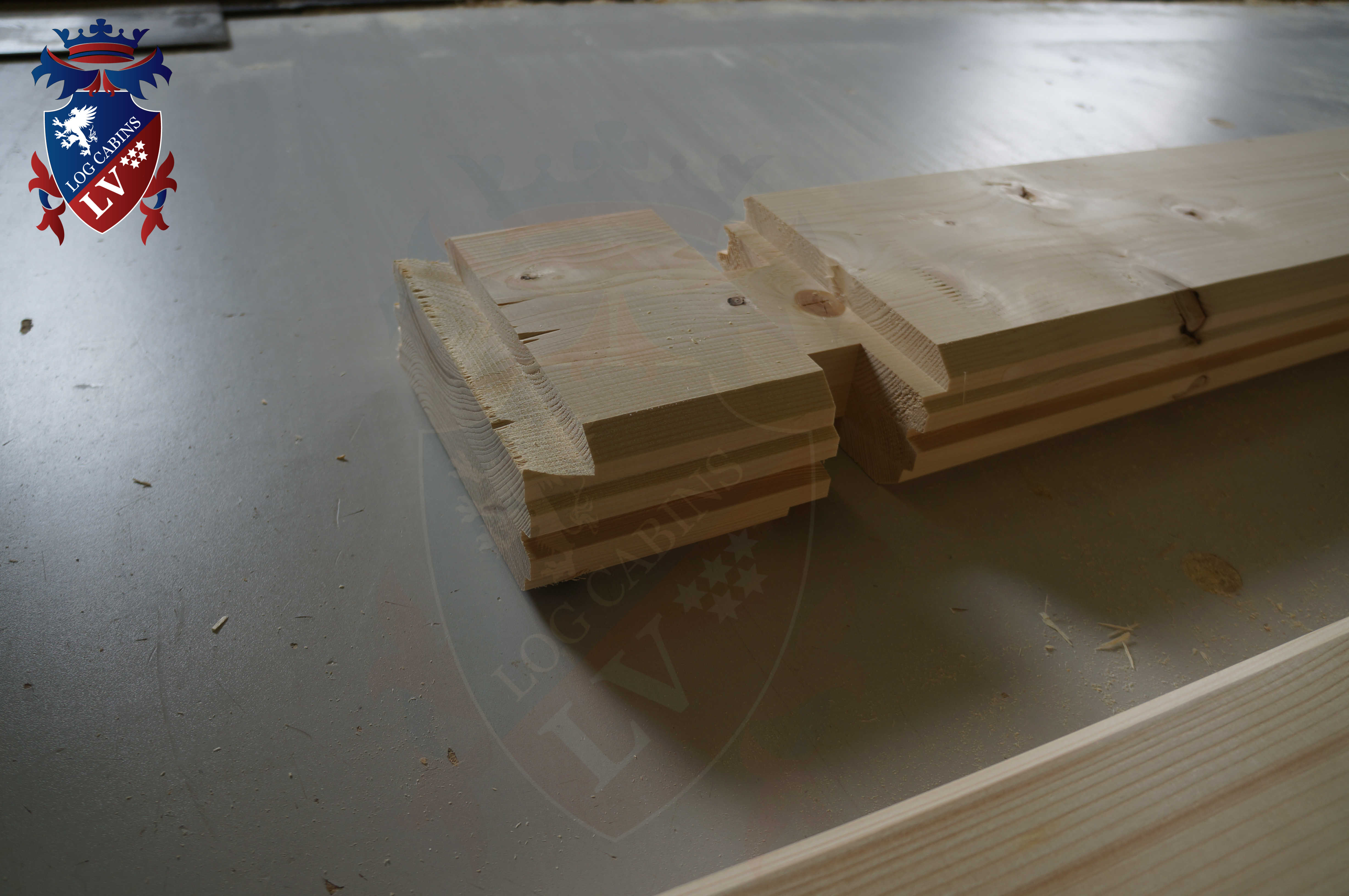 Engineered Glulam Log Cabins  186