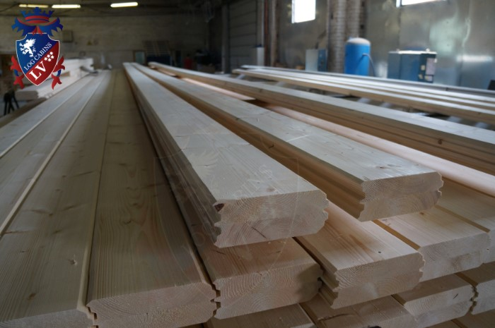 Engineered Glulam Log Cabins  212