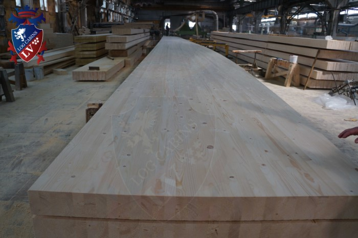 Engineered Glulam Log Cabins  368
