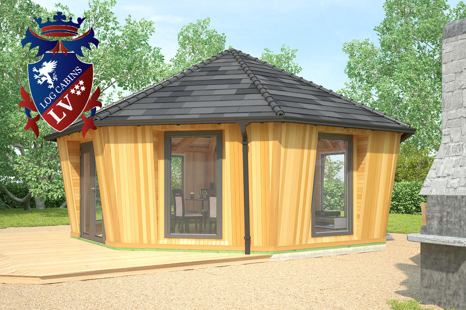 Fully Insulated Timber Frame Lodge 2015  3