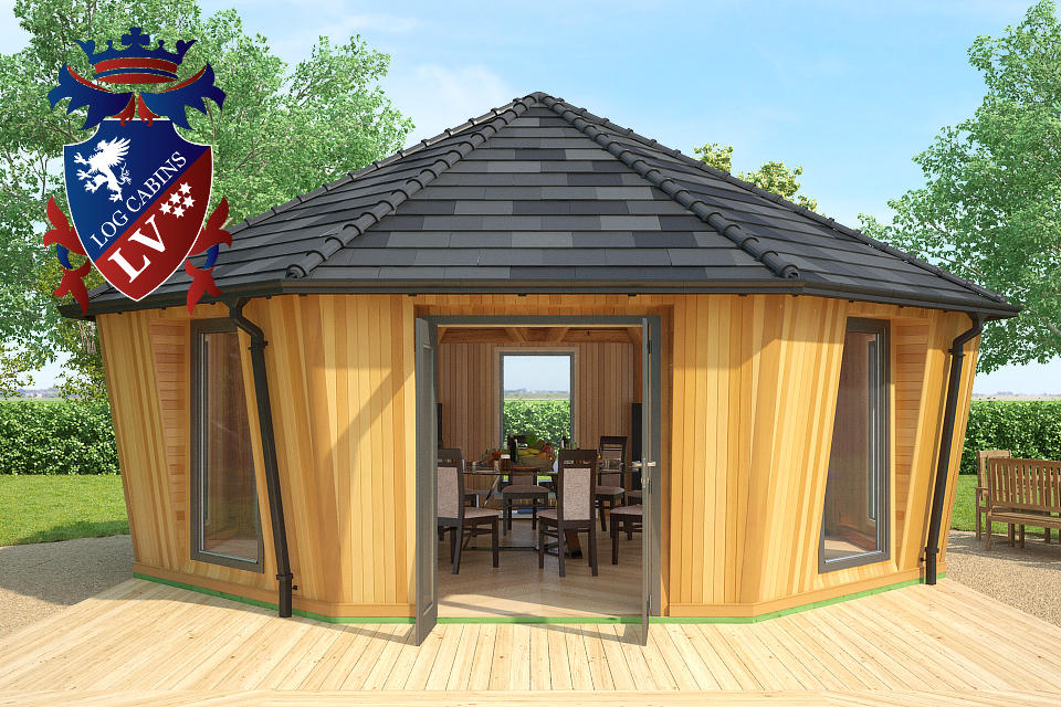 Fully Insulated Timber Frame Lodge 2015  4
