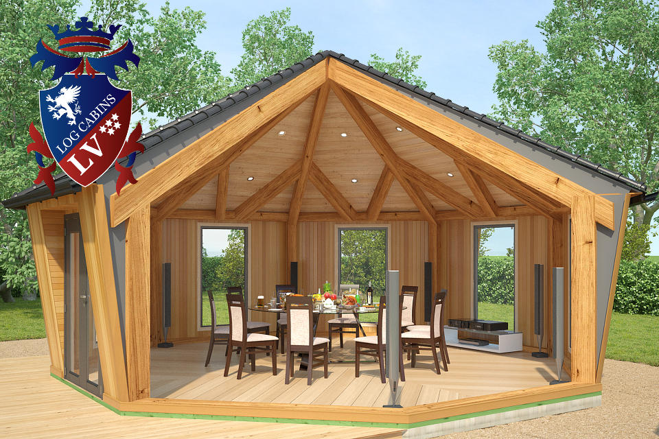Fully Insulated Timber Frame Lodge 2015  7