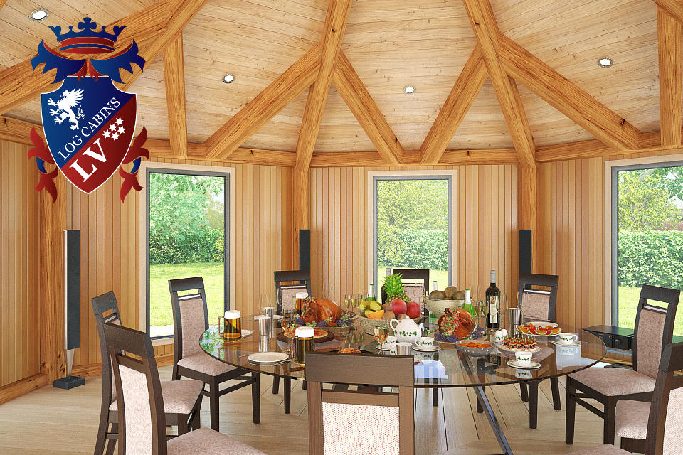 Fully Insulated Timber Frame Lodge 2015  8