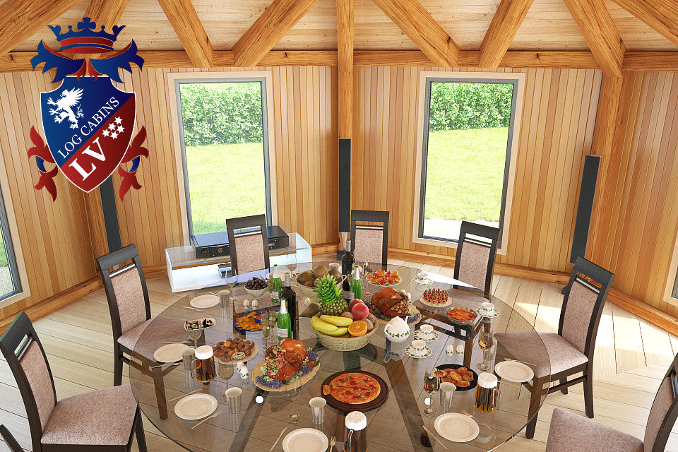 Fully Insulated Timber Frame Lodge 2015  9