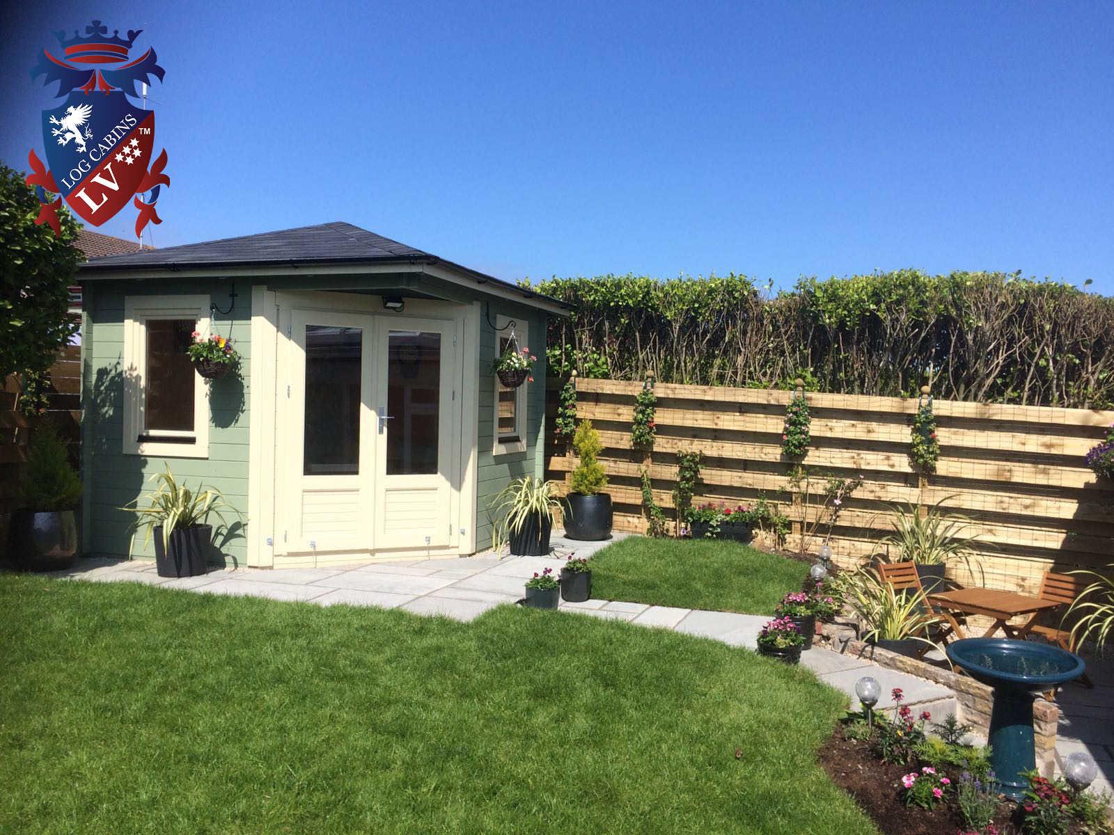 Garden Corner Log Cabins 1