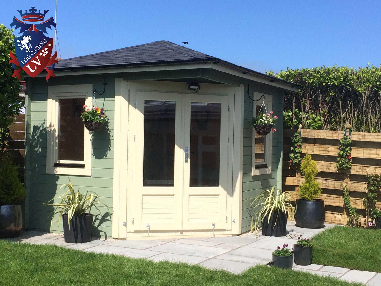 Garden Corner Log Cabins 2