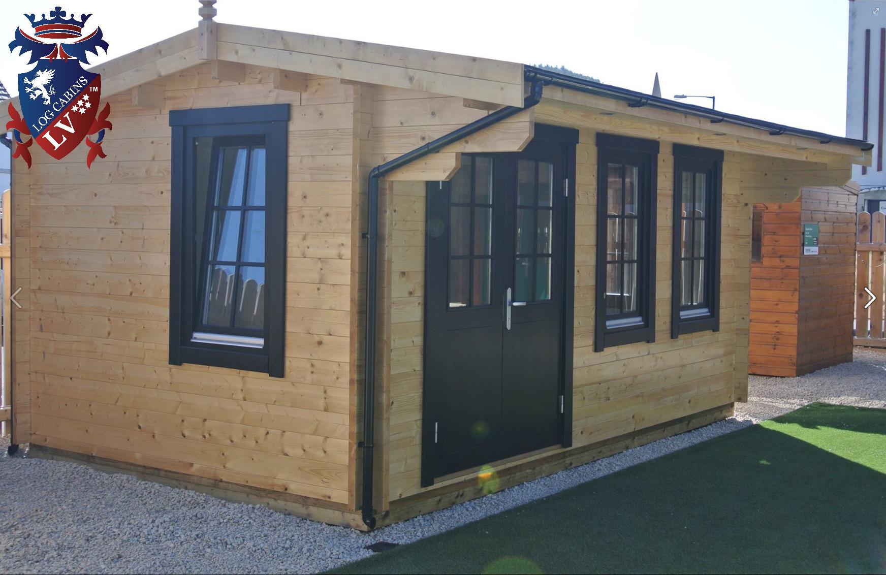 Garden Deluxe Log Cabins 4
