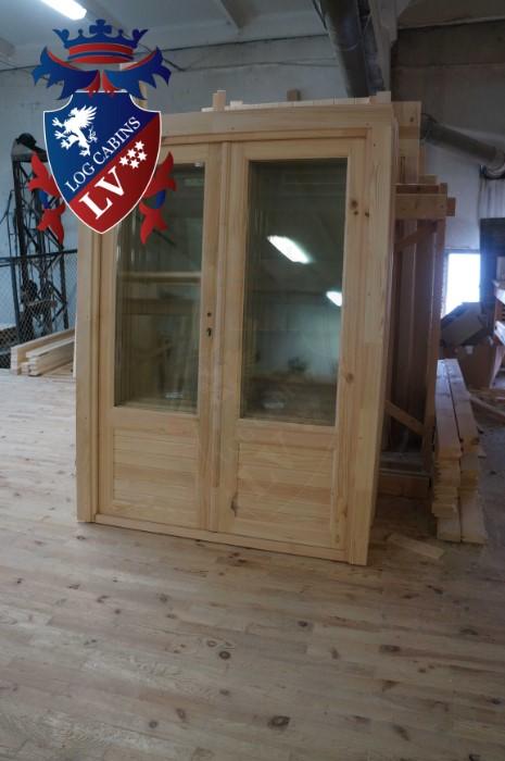 Garden Log Cabins 381