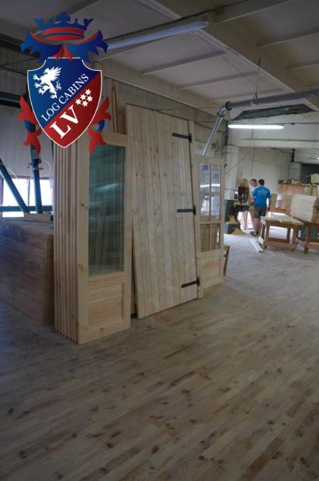 Garden Log Cabins 435