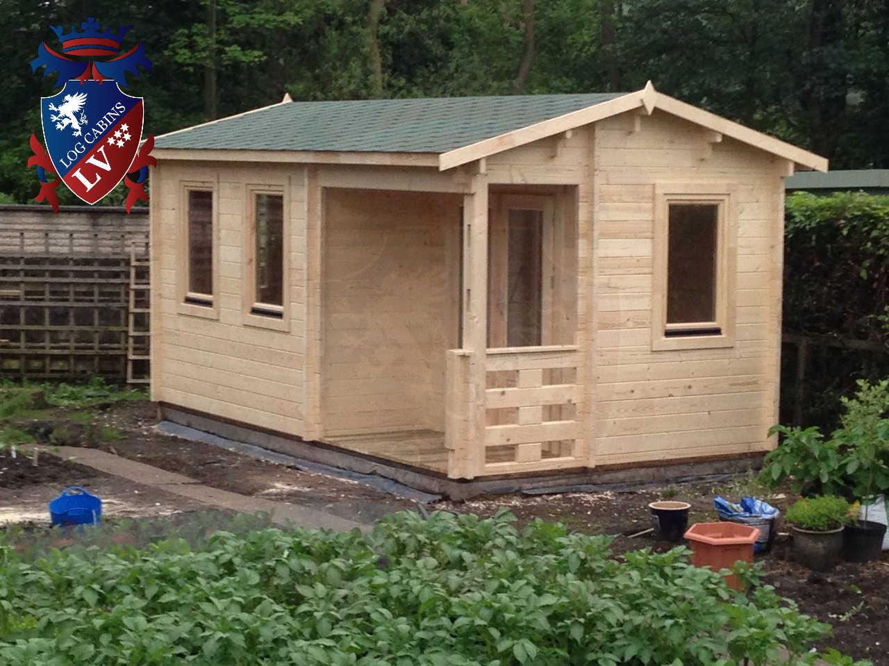 Garden Log Cabins 813