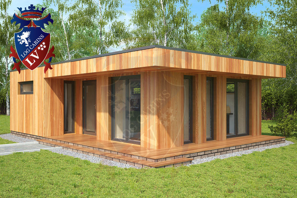 Garden Offices Studios Modern 2015 Log Cabins LV Blog