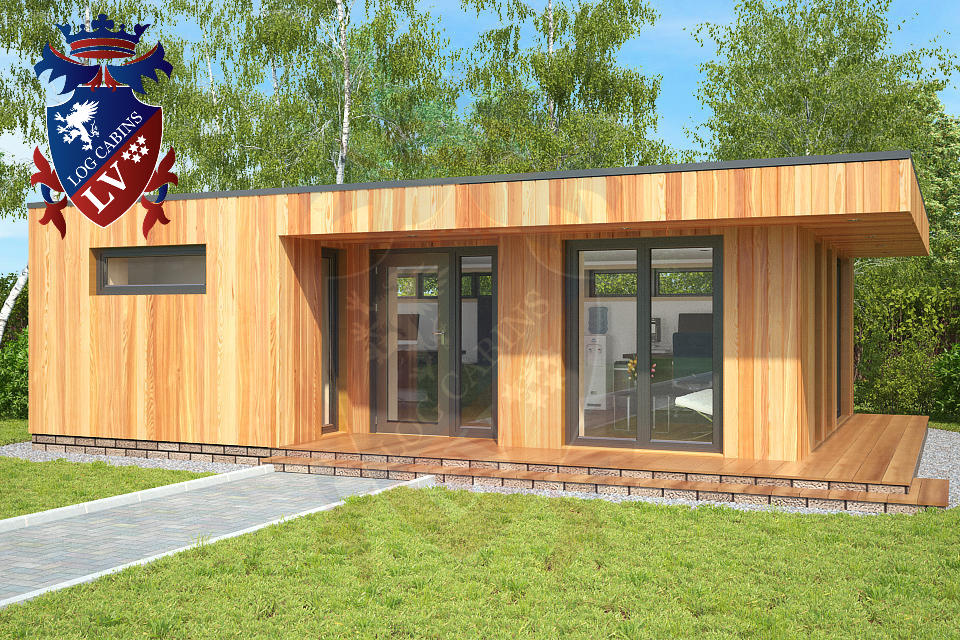 Highly insulated garden offices archives log cabins lv blog for Cheap garden office buildings