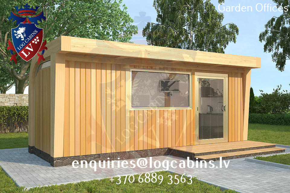 Granny flats garden studios bedroom for the garden log for Granny cabins