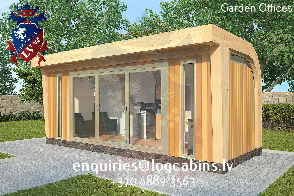 Garden Offices - log cabins lv 03
