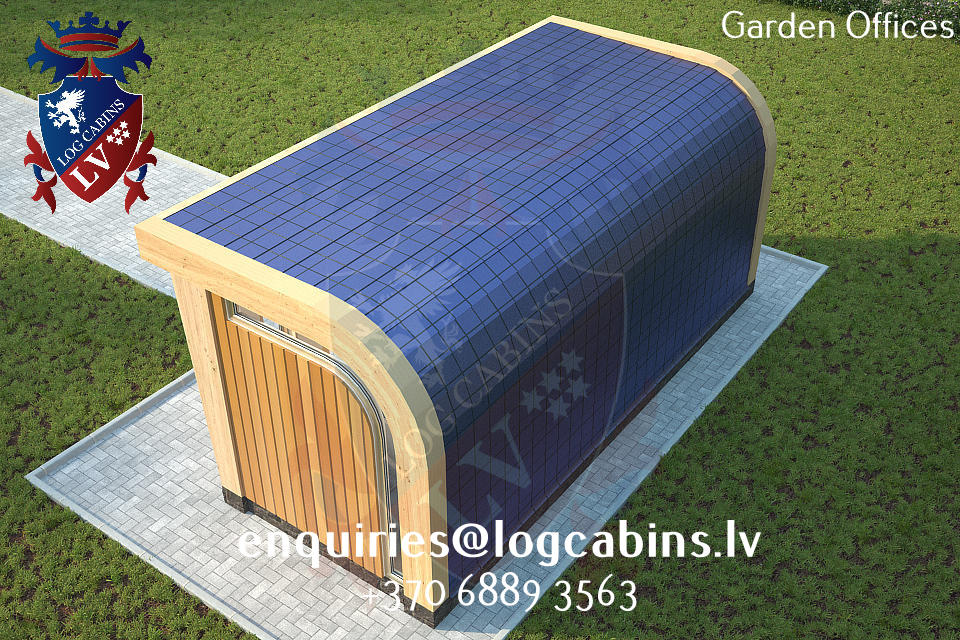 Garden Offices - log cabins lv 06