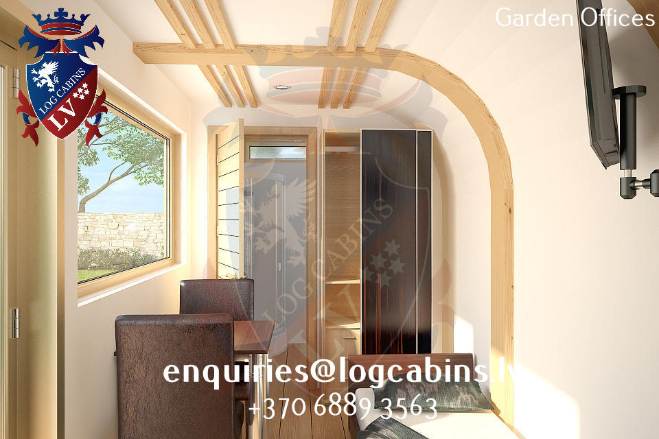 Garden Offices - log cabins lv 07