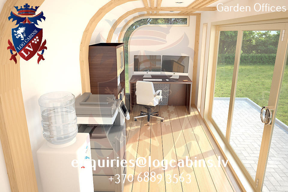 Garden Offices - log cabins lv 08