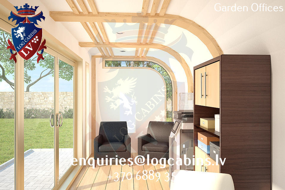 Garden Offices - log cabins lv 10