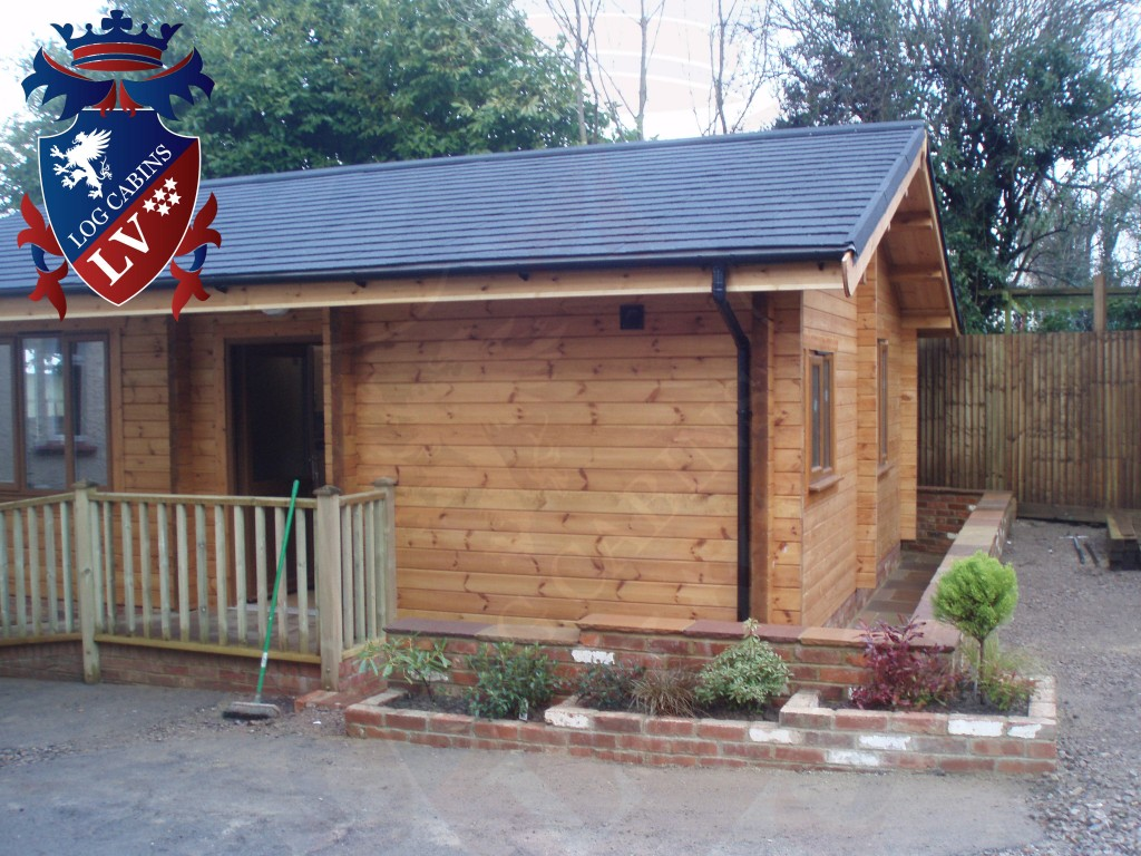 Garden offices wooden garden offices archives log cabins for Garden office cabin