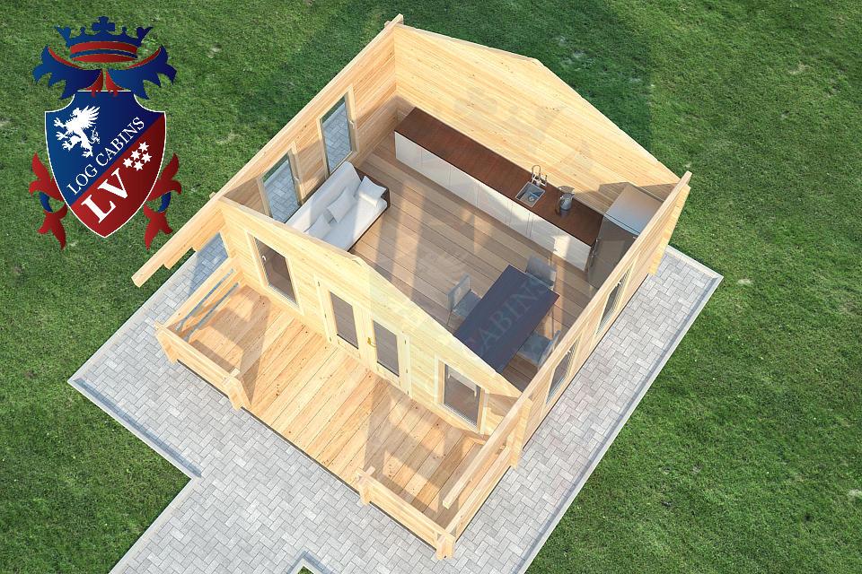 glulam cabins