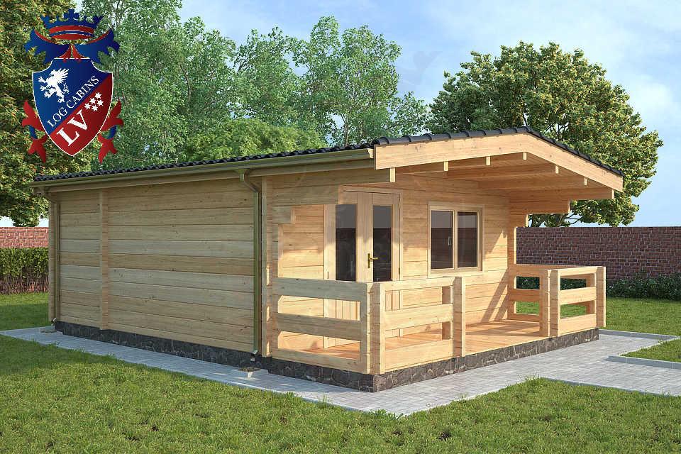 glulam log cabins lv
