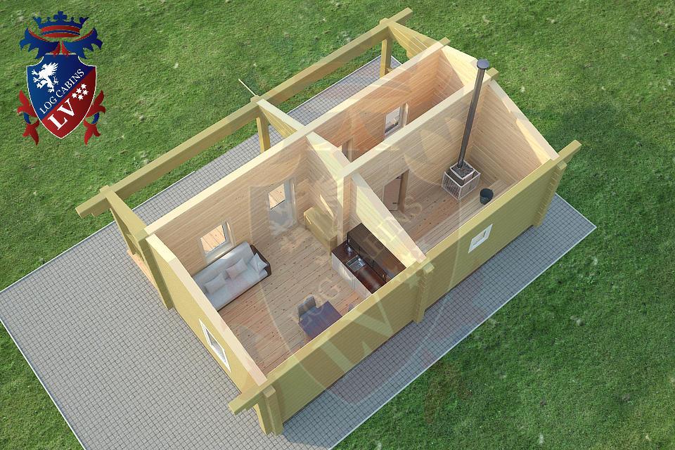Glulam Cabins -Sauna Cabins- Log Cabins 03