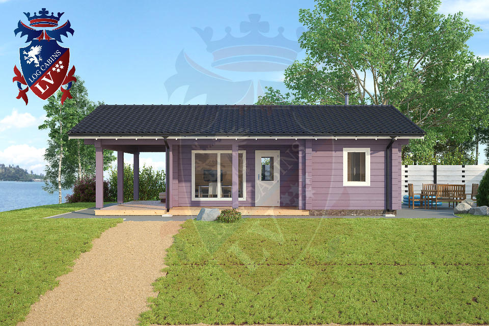 Glulam Cabins -Sauna Cabins- Log Cabins 05
