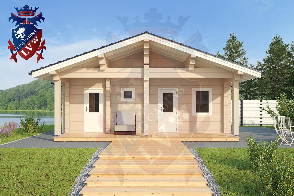 Glulam Cabins -Sauna Cabins- Log Cabins 09