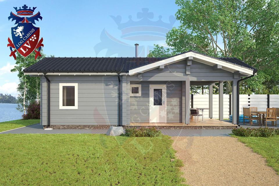 Glulam Cabins -Sauna Cabins- Log Cabins 13