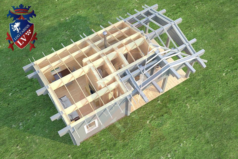 Glulam Cabins -Sauna Cabins- Log Cabins 15