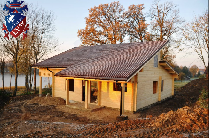 Glulam Log Cabins  120