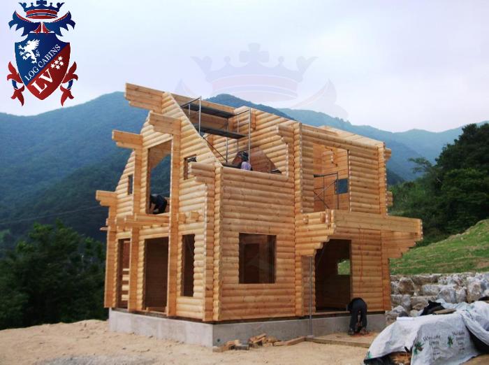 Glulam Log Cabins  156