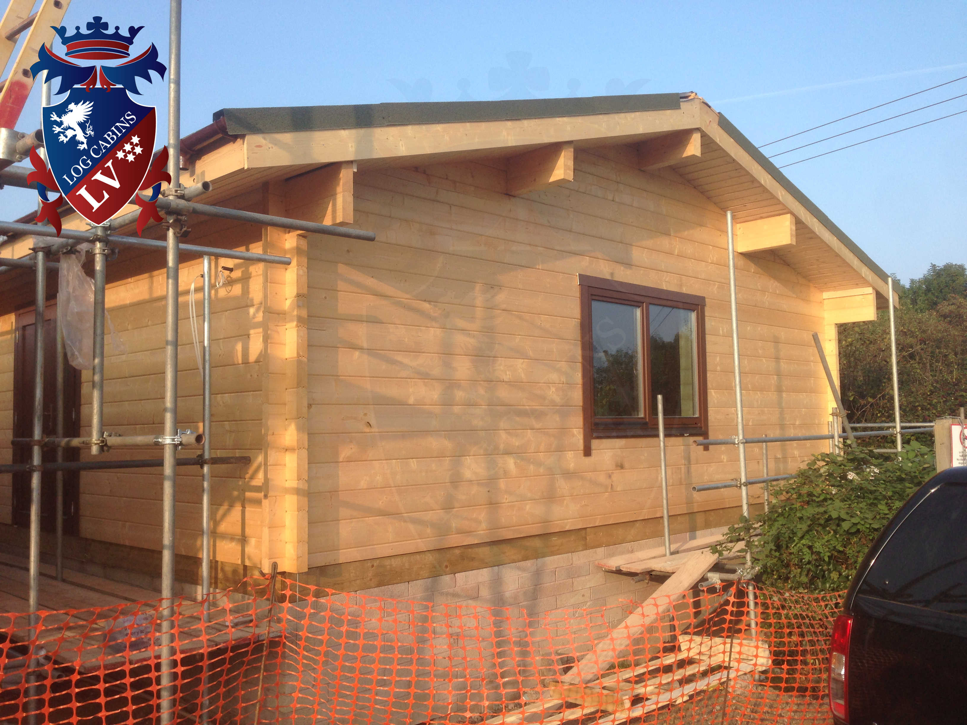 glulam log cabin