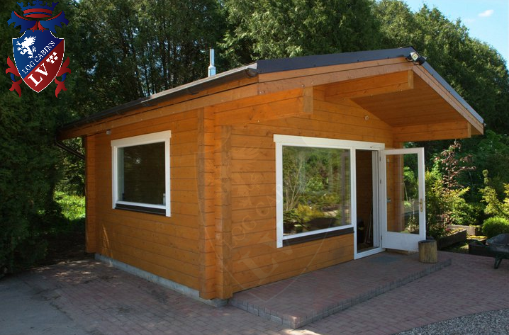 Glulam Log Cabins  192