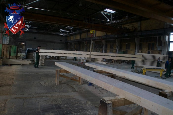 Glulam Log Cabins- Beams- Logs- Balks 2015    5