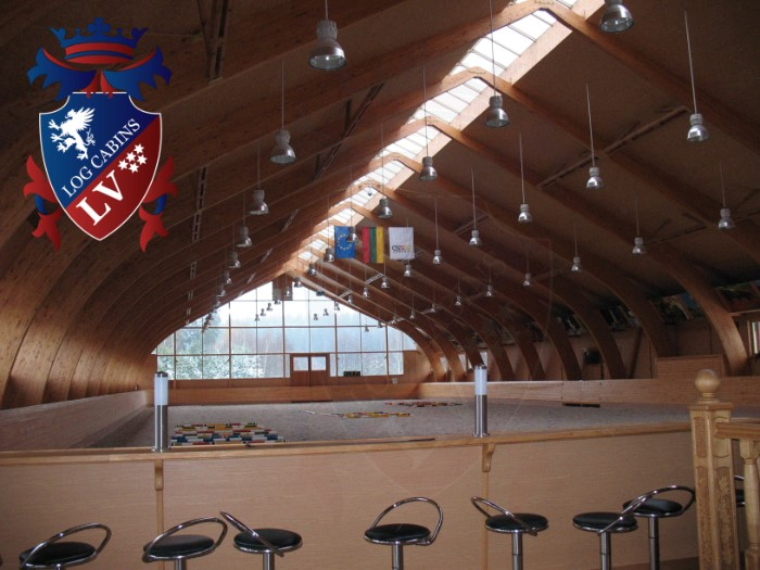 Glulam Log Cabins- Glulam log cabin buildings 314
