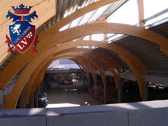 Glulam Log Cabins- Glulam log cabin buildings 354