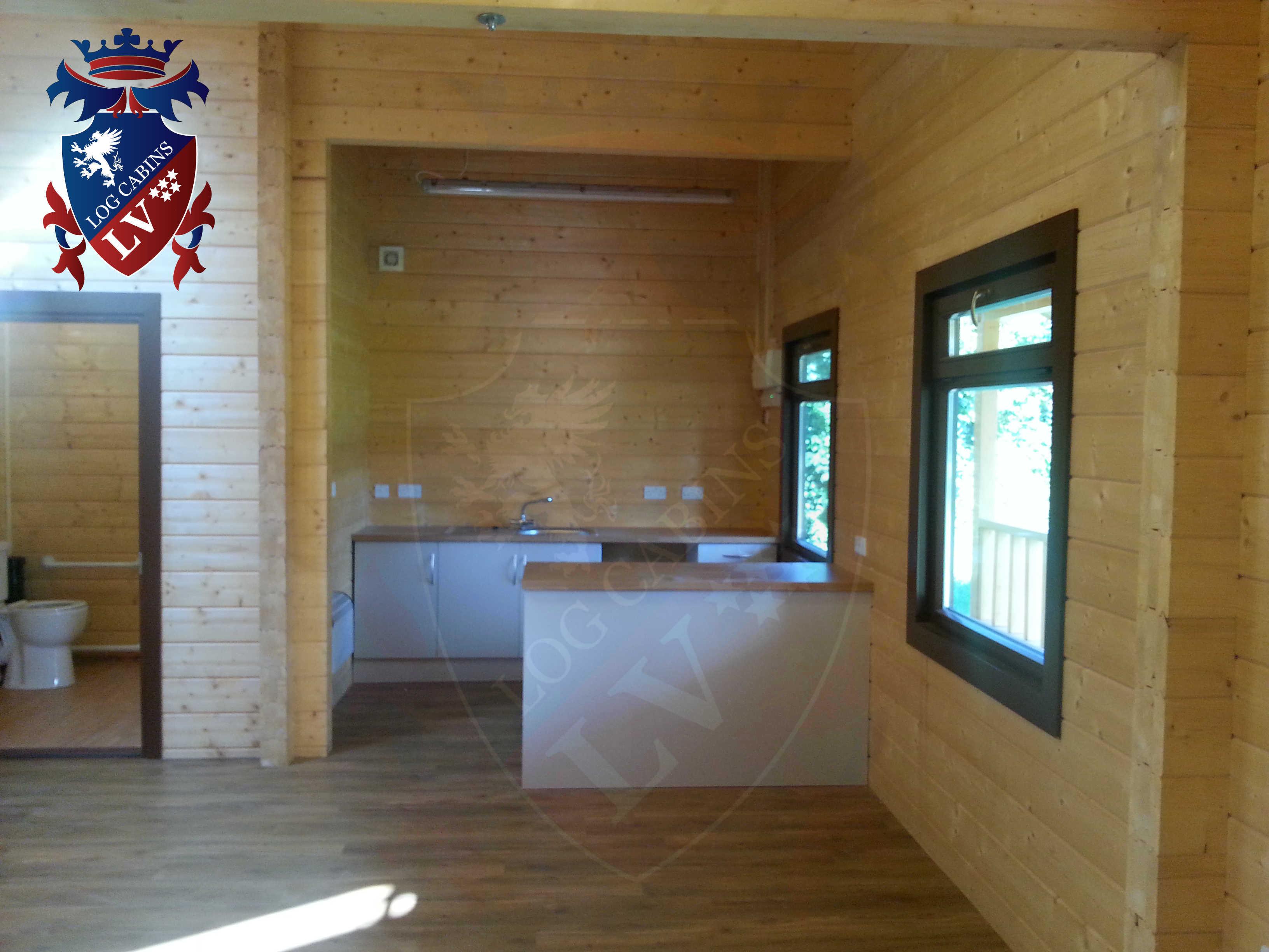 quality glulam cabins