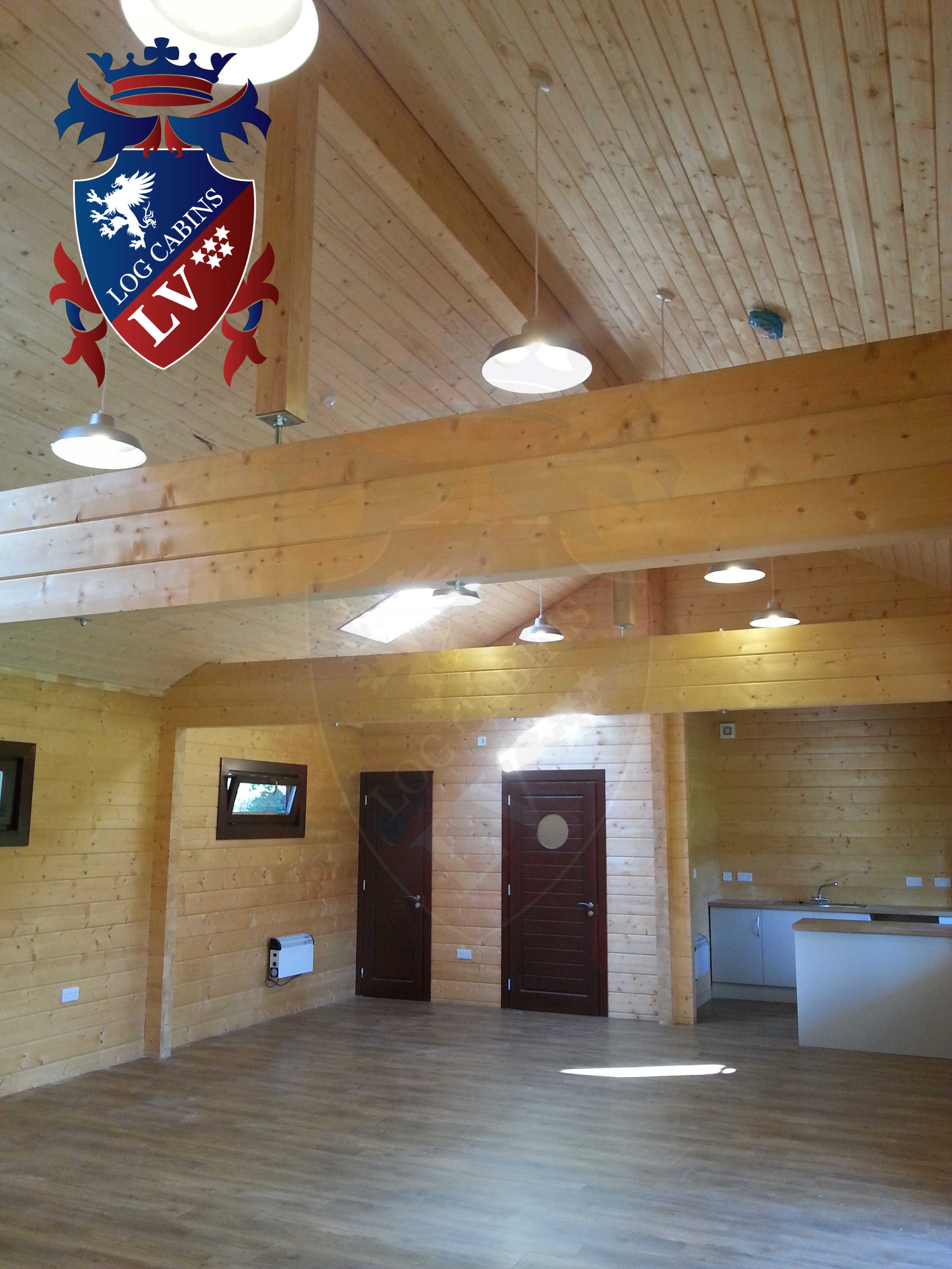 Glulam Log Cabins - Log Cabins LV- 05