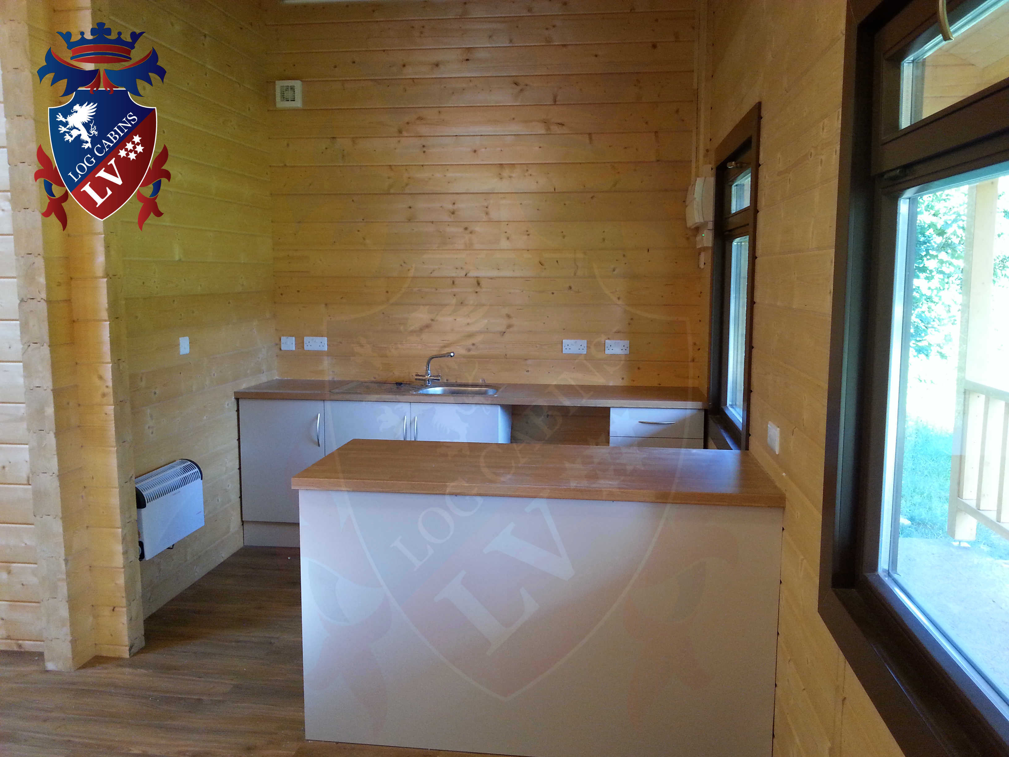 Glulam Log Cabins - Log Cabins LV- 06
