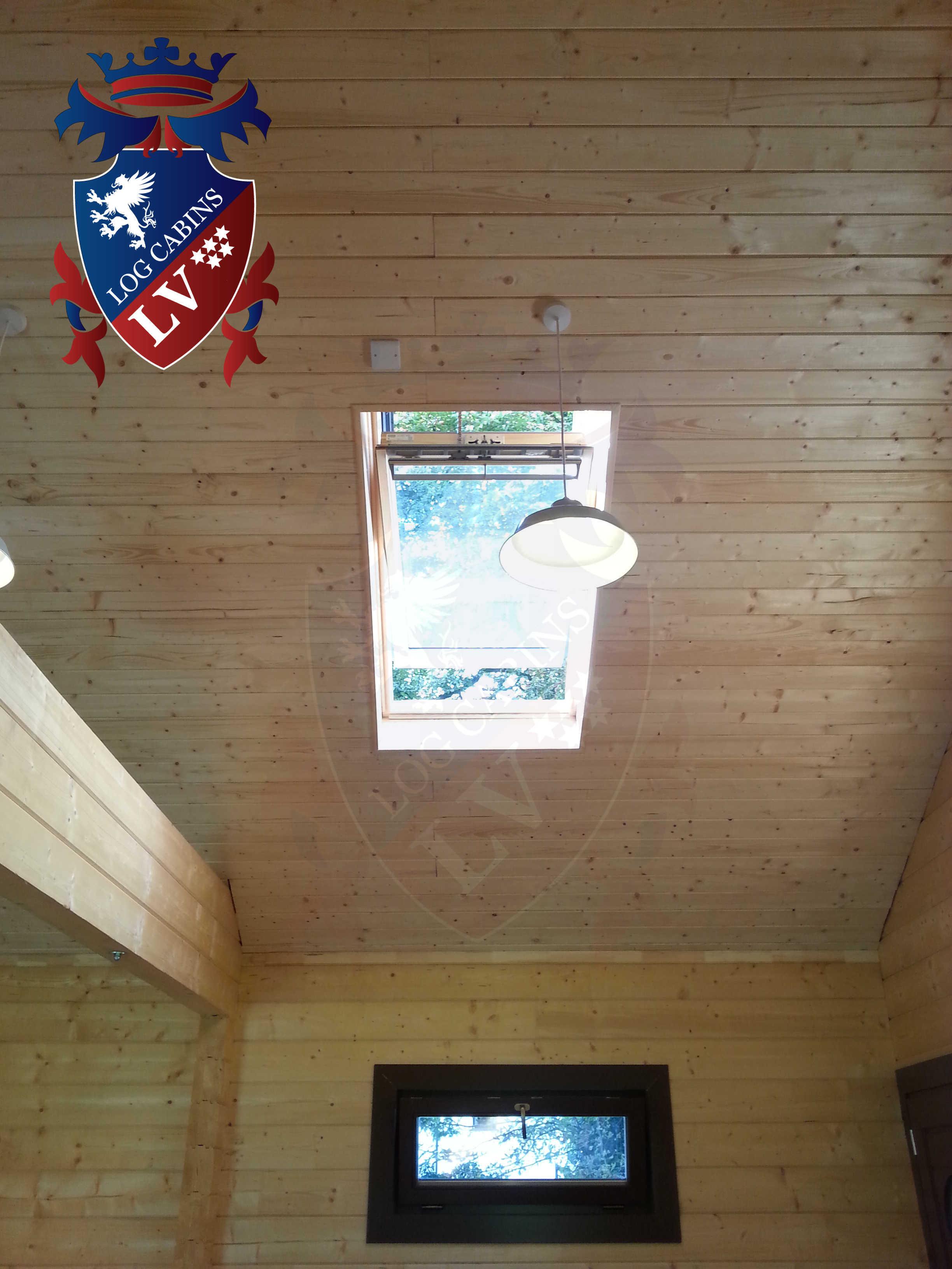 Glulam Log Cabins - Log Cabins LV- 07