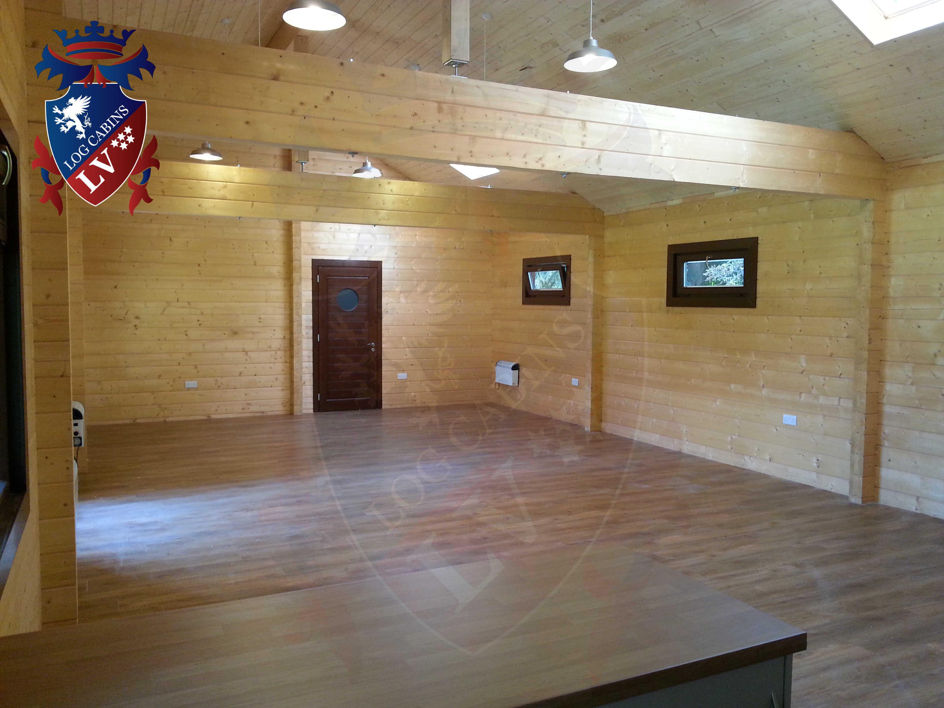 Glulam Log Cabins - Log Cabins LV- 08