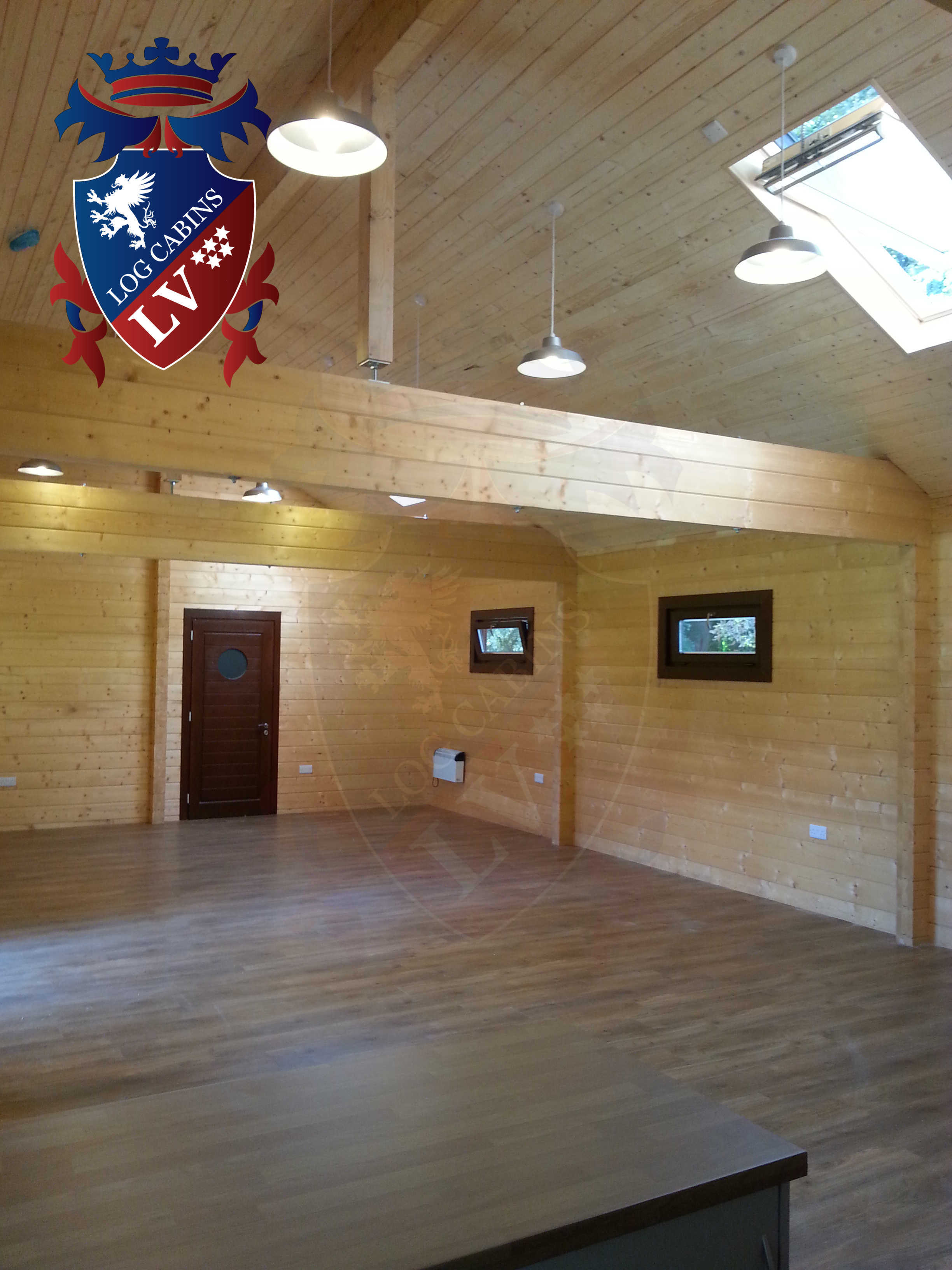 Glulam Log Cabins - Log Cabins LV- 09