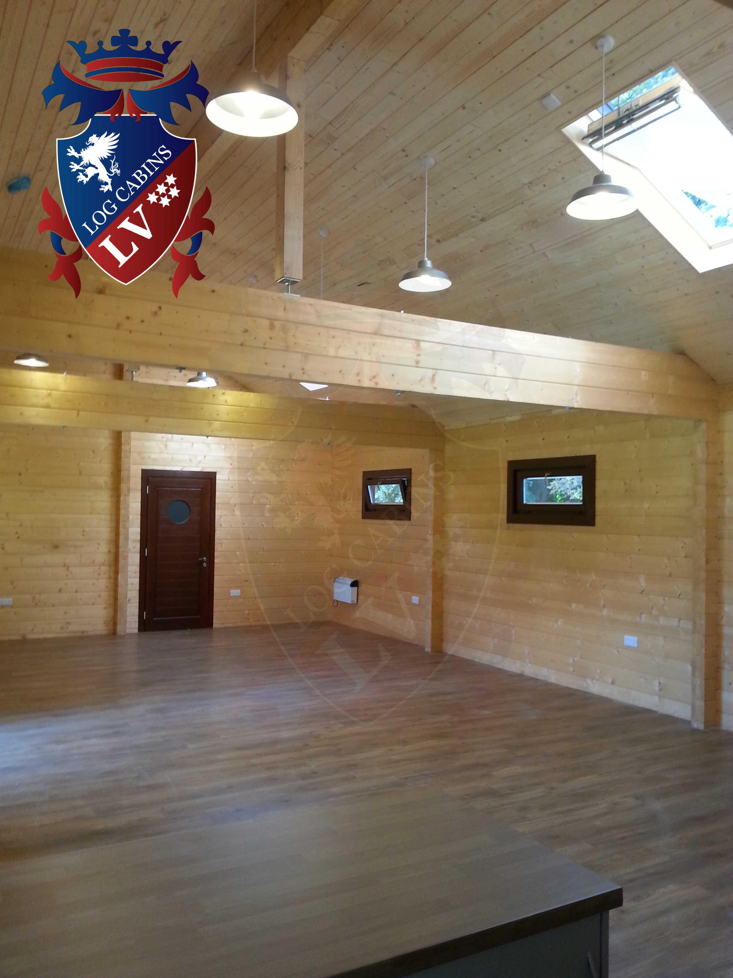 Glulam Log Cabins - Log Cabins LV- 10