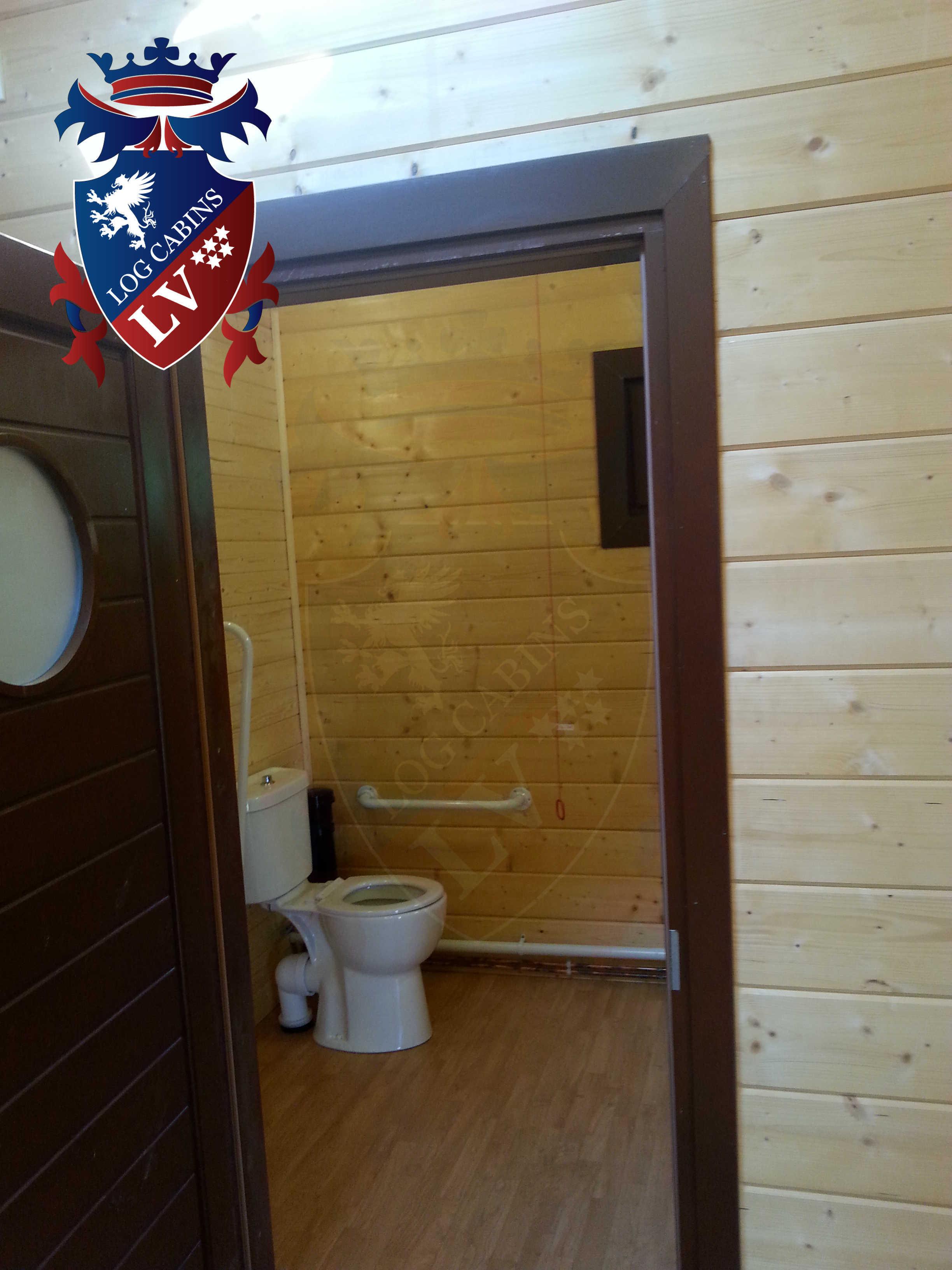 Glulam Log Cabins - Log Cabins LV- 11