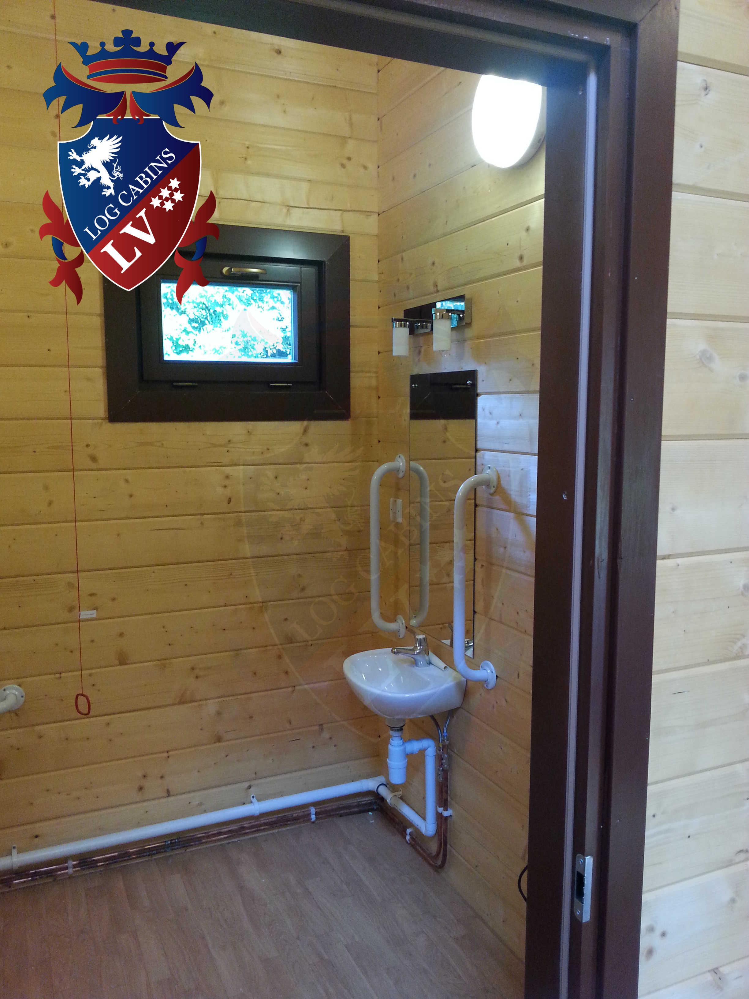 Glulam Log Cabins - Log Cabins LV- 12