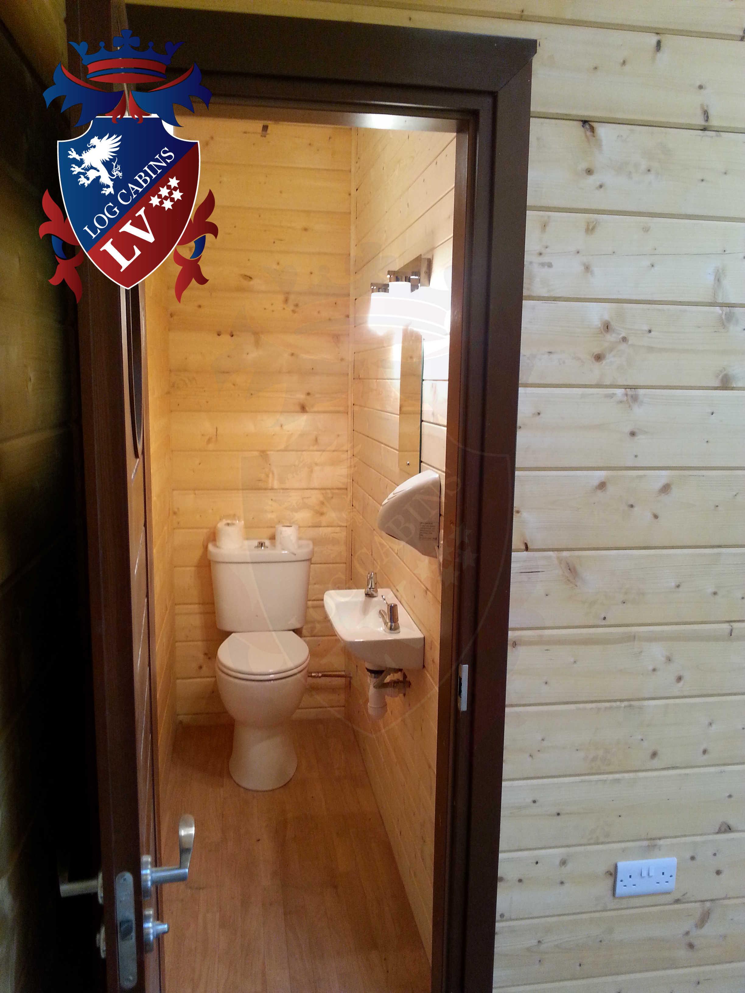 Glulam Log Cabins - Log Cabins LV- 13